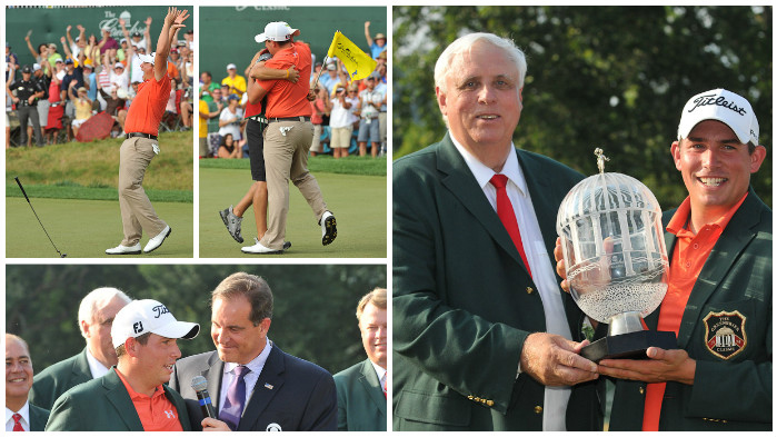 2011 Awards Ceremony with Champion Scott Stallings at The Greenbrier Classic