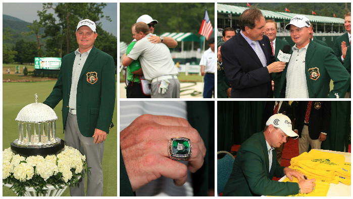 2012 Awards Ceremony with Champion Ted Potter, Jr. at The Greenbrier Classic