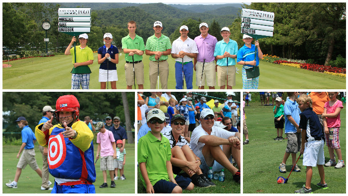 2012 Youth Day at The Greenbrier Classic