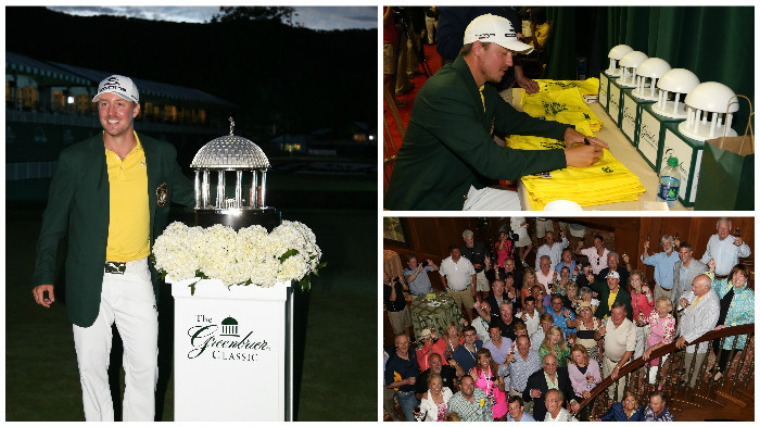 2013 Awards Ceremony with Champion Jonas Blixt at The Greenbrier Classic