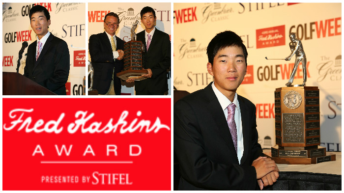 2013 Haskins Award Presentation at The Greenbrier Classic