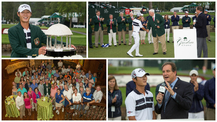 2015 Danny Lee Awards Ceremony at The Greenbrier Classic