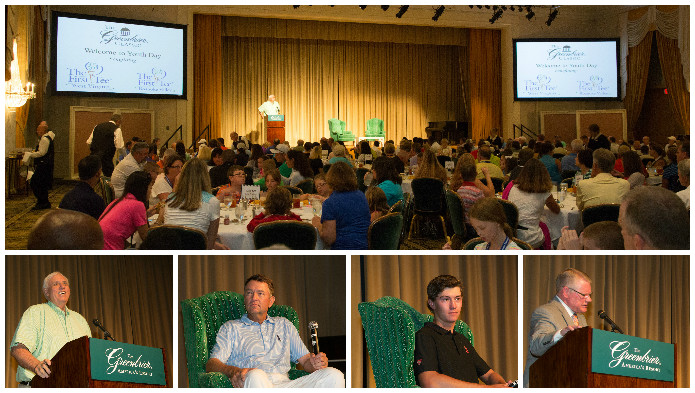 2015 First Tee Luncheon at The Greenbrier Classic