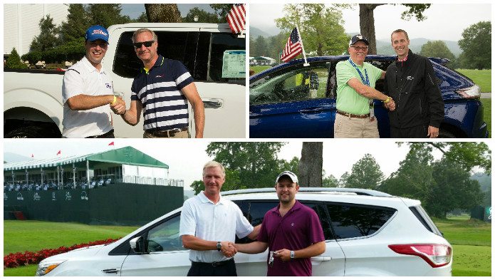 2015 Ford Car Giveaway at The Greenbrier