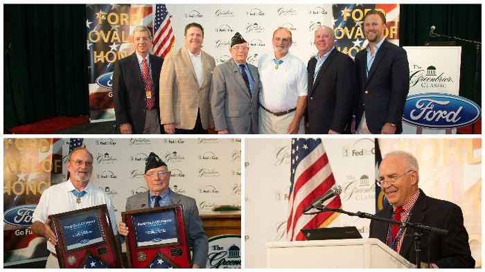 2015 Ford Oval of Honor at The Greenbrier Classic