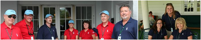 2015 Volunteer Leaders at The Greenbrier Classic
